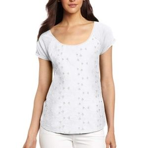 Lucky Brand Women's Lily Cut Out Tee